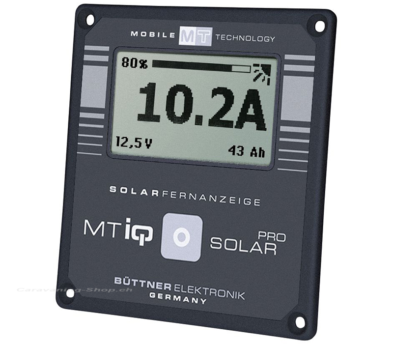 MT Solar Fernanzeige LCD II